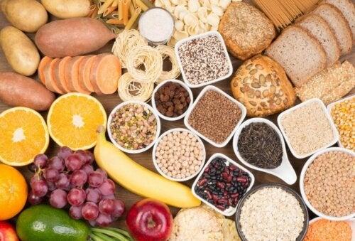 Kohlenhydratreiche lebensmittel und ihre Wirkung auf den GI