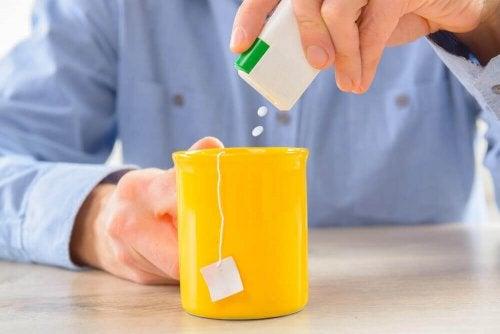 Zuckerfreie Erfrischungsgetränke