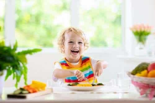 Gesunde Lebensmittel für Kinder zwischen 1 und 3 Jahren
