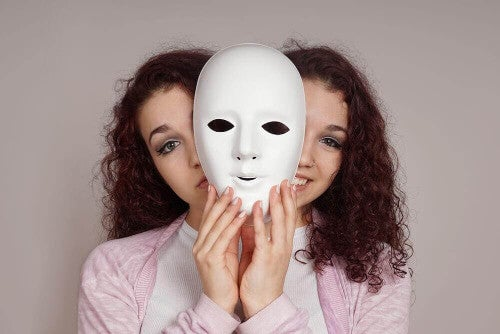 Person mit bipolarer Störung
