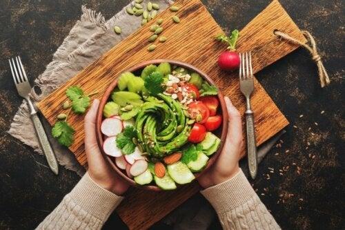 Kein Abendessen oder Salat?