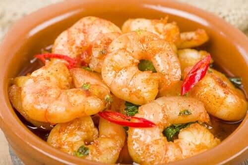 Rezept für Fischbällchen mit Garnelen