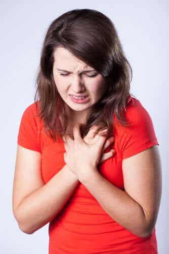 Thoraxschmerz: mögliche Ursachen