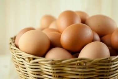 Biotin in Hühnereiern