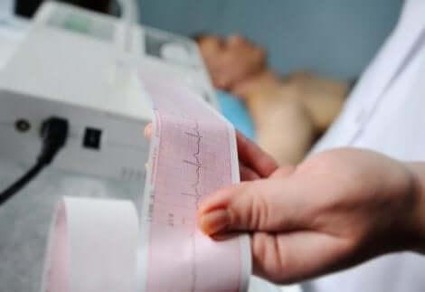 Thoraxschmerz durch Herzkrankheiten, Diagnose