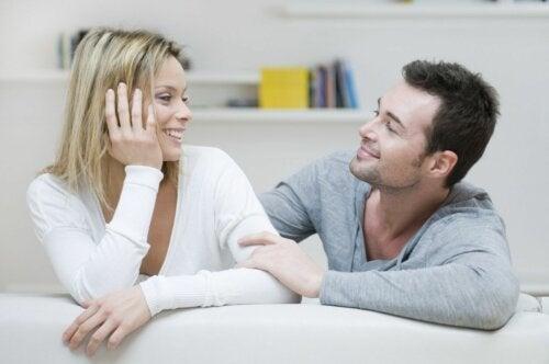 Gespräche in einer gesunden Beziehung