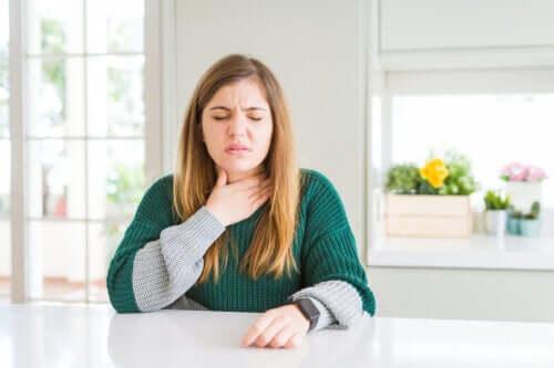 Schnelle Hilfe bei Halsschmerzen