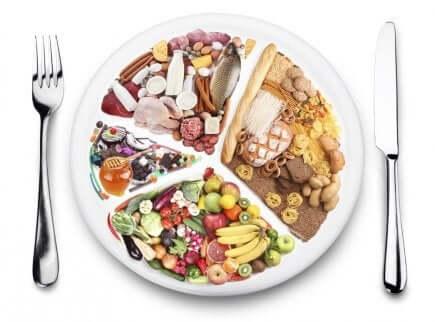 Ausgeglichene Ernährung, um Verdauungsbeschwerden zu verhindern