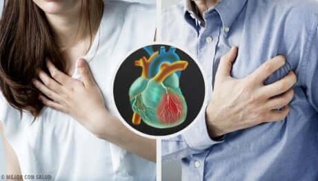 Herzanfall: Verschiedene Symptome je nach Geschlecht