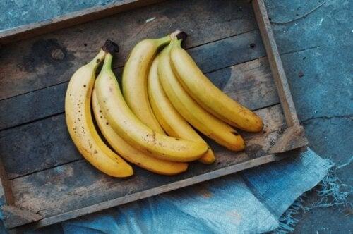 Vitamin-B-Lieferanten: Bananen