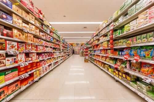 Corona-Ansteckung im Supermarkt