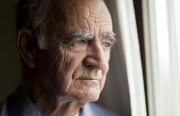 ältere Menschen in Quarantäne