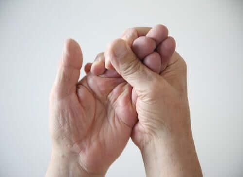 Nerven der Hand: Nervus radialis
