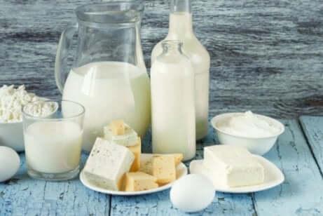 Wahl von Kohlenhydraten: Milchprodukte