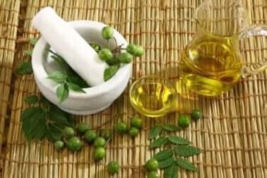 Feuchtigkeitsspendende Pflanzenöle