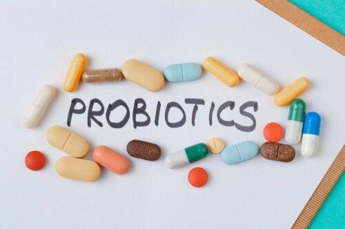 Probiotische Nahrungsergänzungsmittel