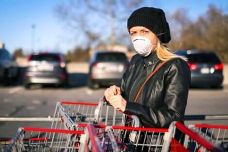 Corona-Ansteckung im Supermarkt vermeiden