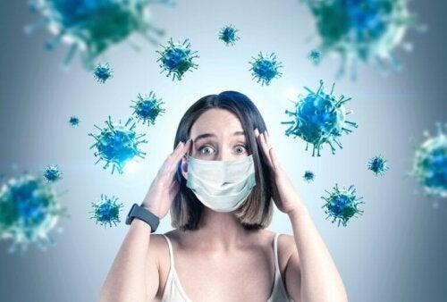 Auswirkungen von Coronavirus auf das Gehirn