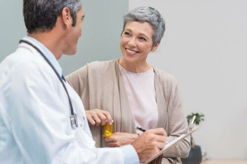 Arztbesuch wegen Menopause