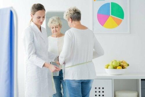 Wechseljahrbeschwerden und Gewichtszunahme