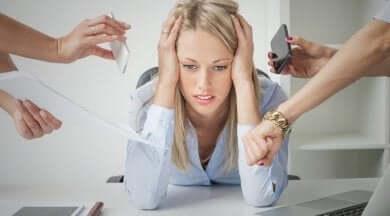 Feinde deiner Haut: Stress und Schlaflosigkeit