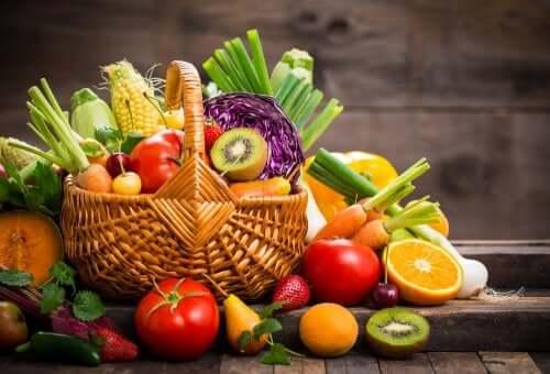 regionales Obst und Gemüse