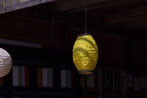 Papierlampion - Außenleuchten