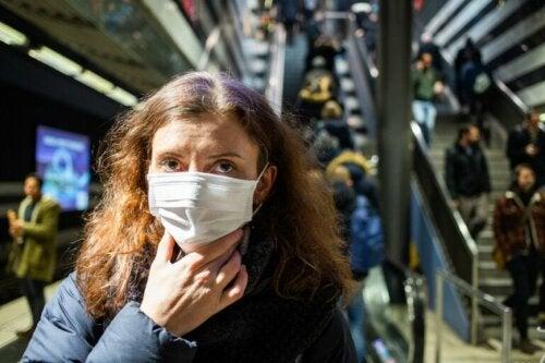 Coronavirus: nicht ins Gesicht greifen