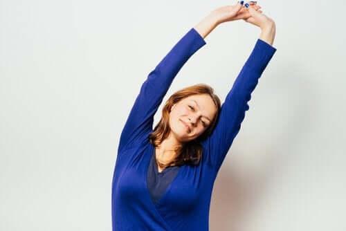 Stretchübungen während der Schwangerschaft