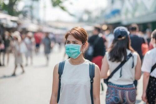 Stoffmasken zum Schutz
