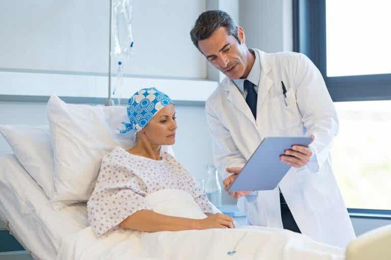 Nebenwirkungen einer Krebstherapie
