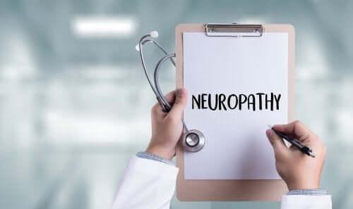 Nervenschäden durch diabetische Neuropathie