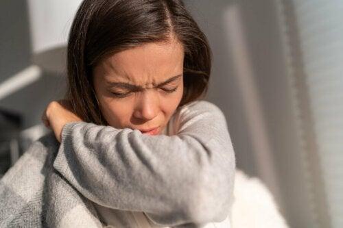 Niesen durch Allergien