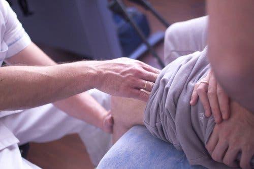 Meniskusriss: Merkmale und Symptome