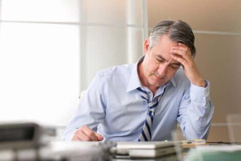 Stress produziert graue Haare