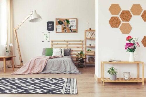 Wandgestaltung mit Kork