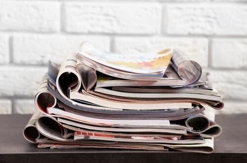 Wiederverwertbare Dinge: Zeitungen