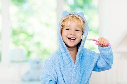 Mundpflege bei Kindern