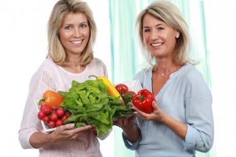 Wechseljahre: richtige Ernährung