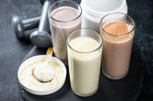 Enzyme in Proteinpräparaten