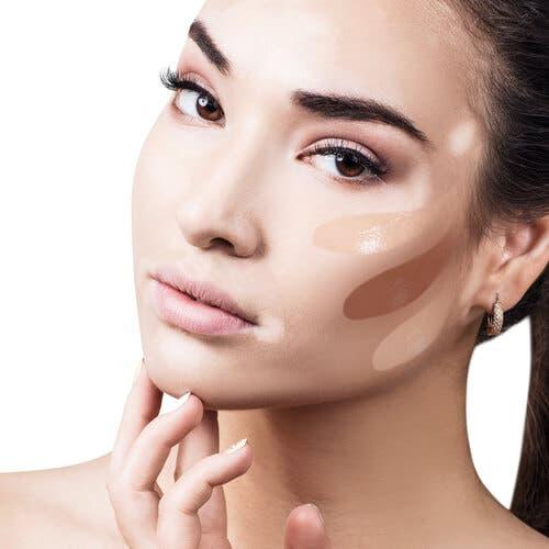 Korrigierendes Make-up in der Dermatologie
