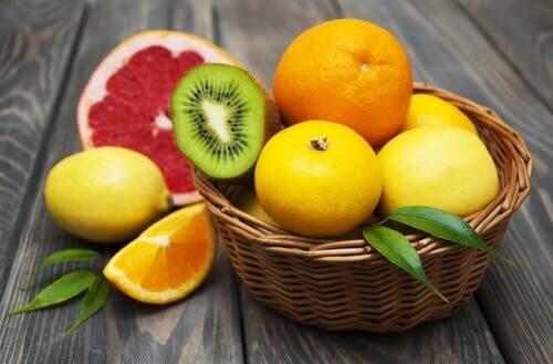 Zitrusfrüchte bei Eisenmangelanämie