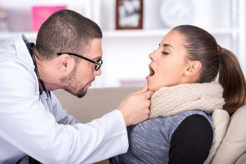 Holunder gegen Halsschmerzen