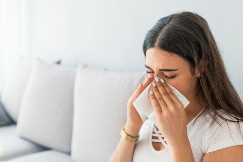 4 Hausmittel gegen Sinusitis