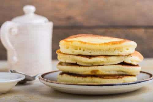 Rezept: Hotcakes mit Bananen und noch einer Zutat