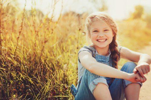 Lerne von deinem Kind zu lachen