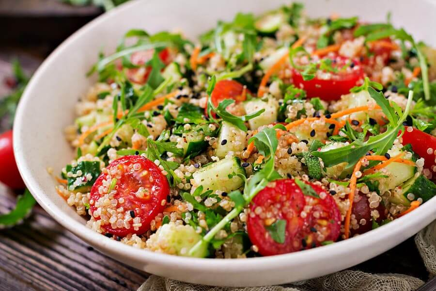 Quinoa-Salat: 3 gesunde Rezepte