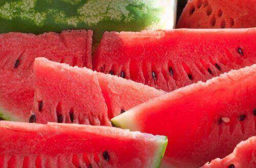 Früchte beim Abnehmen - Wassermelone