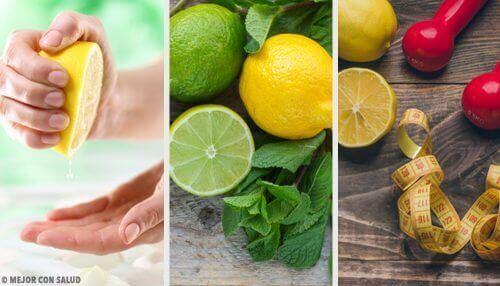 Früchte beim Abnehmen - Zitronen