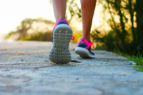 sportliche Aktivität - Laufen